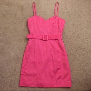 NWT H & M Sweetheart Pink Dress